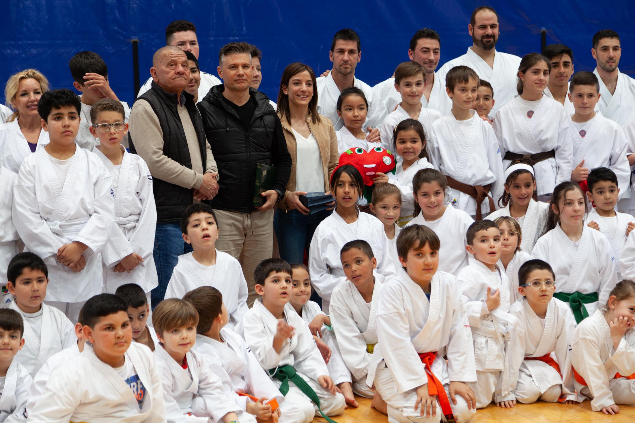 Exhibición de Karate con Sandra Sánchez
