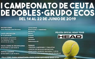 Primer Campeonato Solidario de Dobles de Ceuta