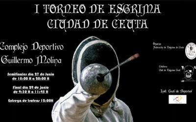 Todo Preparado para el I Torneo de Esgrima Ciudad de Ceuta
