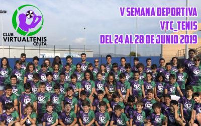 Cierre de la V Semana Deportiva de VTC Tenis