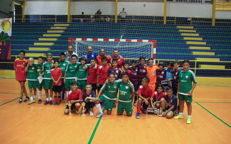 Entrega de premios XI Torneo de Fútbol Sala Virgen del Carmen