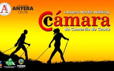 Inscripciones Abiertas para la I Marcha Nórdica Cámara de Comercio de Ceuta