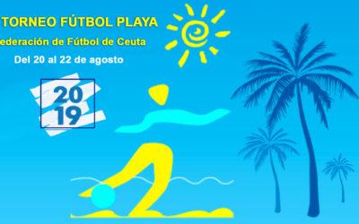 La Federación de Fútbol de Ceuta Organiza el I Torneo de Fútbol Playa