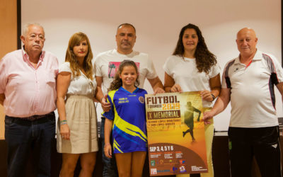 Presentación del X Torneo Memorial Álvaro y Ana López