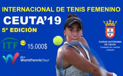 Llega el V Torneo Internacional de Tenis Femenino 'Ciudad de Ceuta'