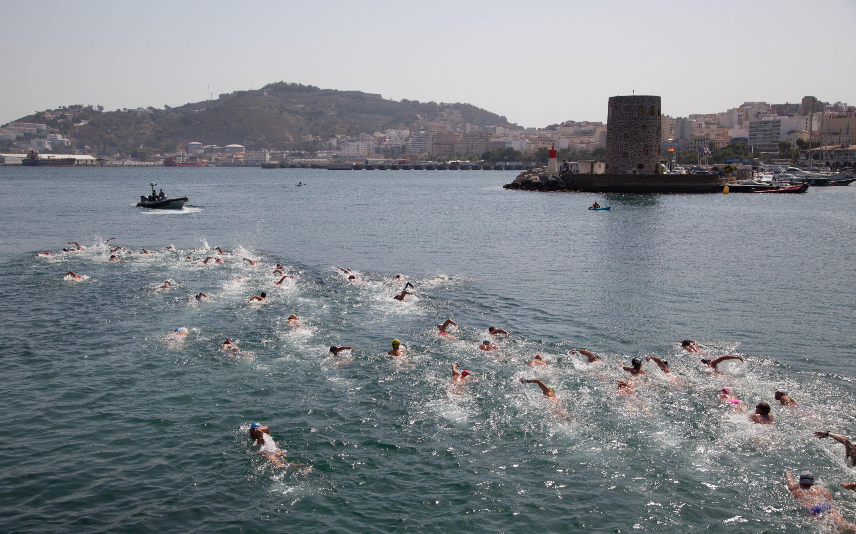 Galería de la LXXVI Travesía a Nado al Puerto de Ceuta