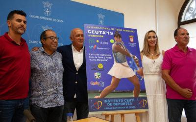 Presentación del Torneo Internacional de Tenis Femenino de Ceuta