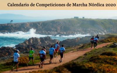 Publicado el Calendario de Competiciones de Marcha Nórdica 2020