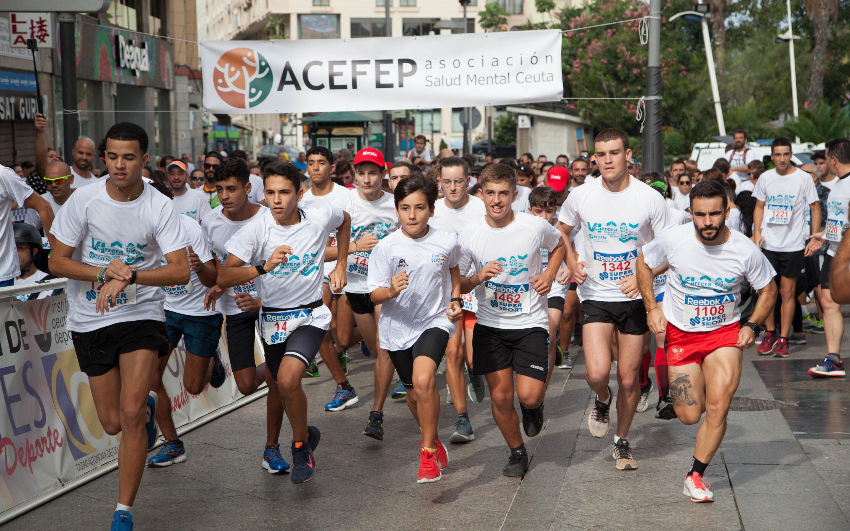 Carrera Solidaria 4300 pasos por la Salud Mental