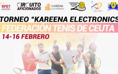 La Federación de Tenis organiza el I Torneo de Aficionados de Dobles 'Kareena Electronics'
