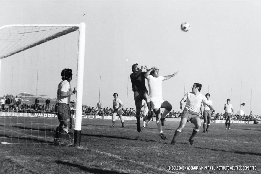 historia del deporte - fotografías históricas de Ceuta