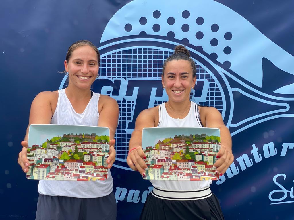 Olga Parres y Francisca Jorge premios