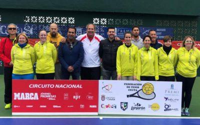 La Federación de Tenis de Ceuta lanza sus cursos de monitores y entrenadores