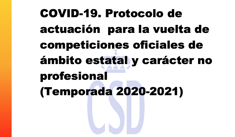 protocolo competiciones