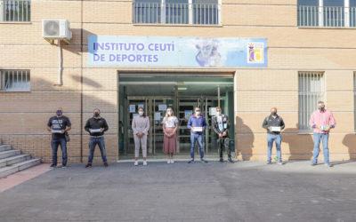 El Instituto Ceutí de Deportes entrega 500 test rápidos a clubes deportivos de categoría nacional