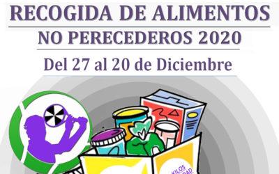 La Federación de Tenis inicia su recogida de alimentos solidaria