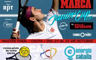 Ceuta será sede del Máster Final de Tenis 'Junior Cup U18'