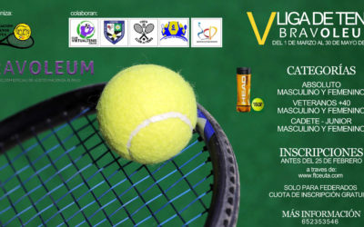 La Federación de Tenis comienza su V Liga Regular