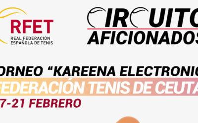 La Federación de Tenis organiza el torneo Kareena Electronics