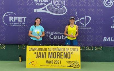 Finaliza el campeonato autonómico de tenis de Ceuta